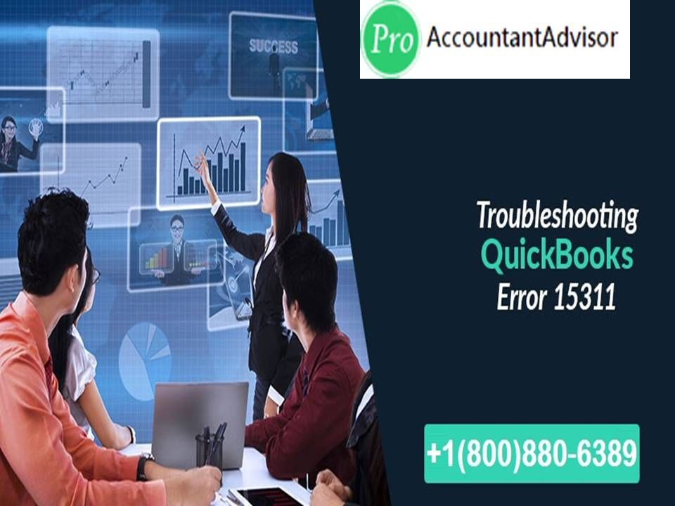 QuickBooks Error Code 15311 occurs when you are unable to update