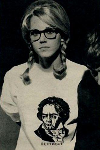 first ever hipster: Jane Fonda