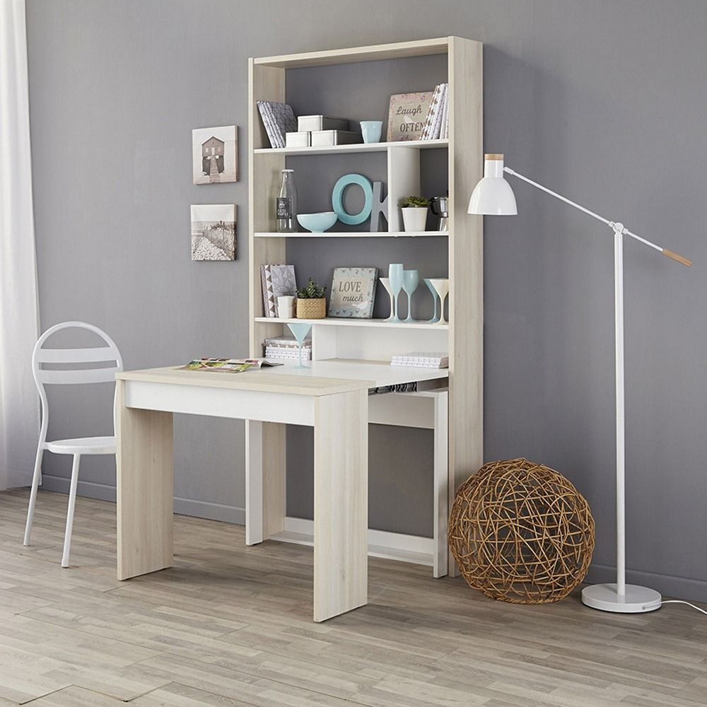 Parisot Schuffle Table With Built In Extension Desk With Images