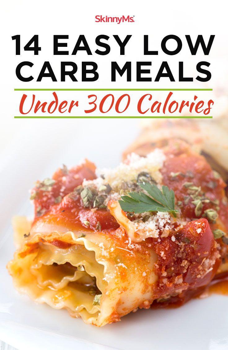 14 Easy Low-Carb Meals Under 300 Calories | 300 calorie