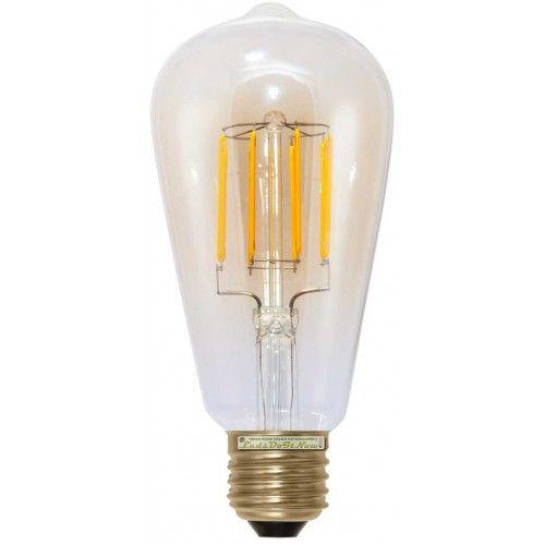 led gloeidraad lampen segula led lamp e27 6w rustika kooldraad - Led Lampen Ewatt