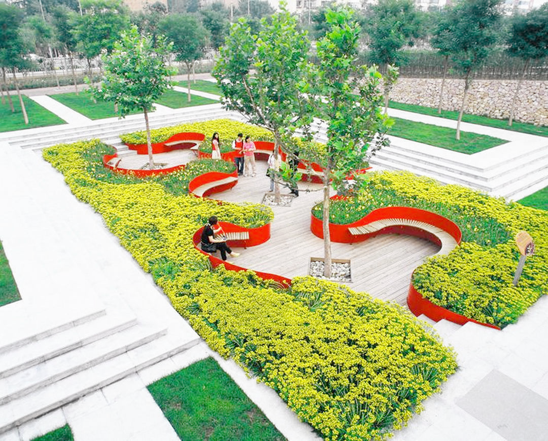 Urban Landscape Broxburn Off Landscape Gardening Ideas For Small Gardens Beyond Small Urban Garden Easy Landscaping Landscape Architecture Landscape Architect