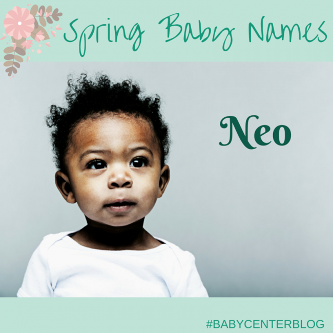 Neo Meaning: 17 Great Baby Names Perfect For Spring
