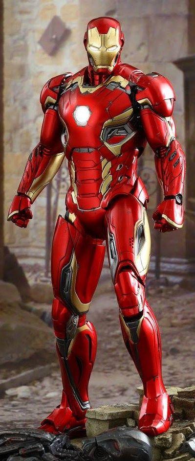 Hot Toys AVENGERS: AGE OF ULTRON Iron Man Mark XLV Action ...