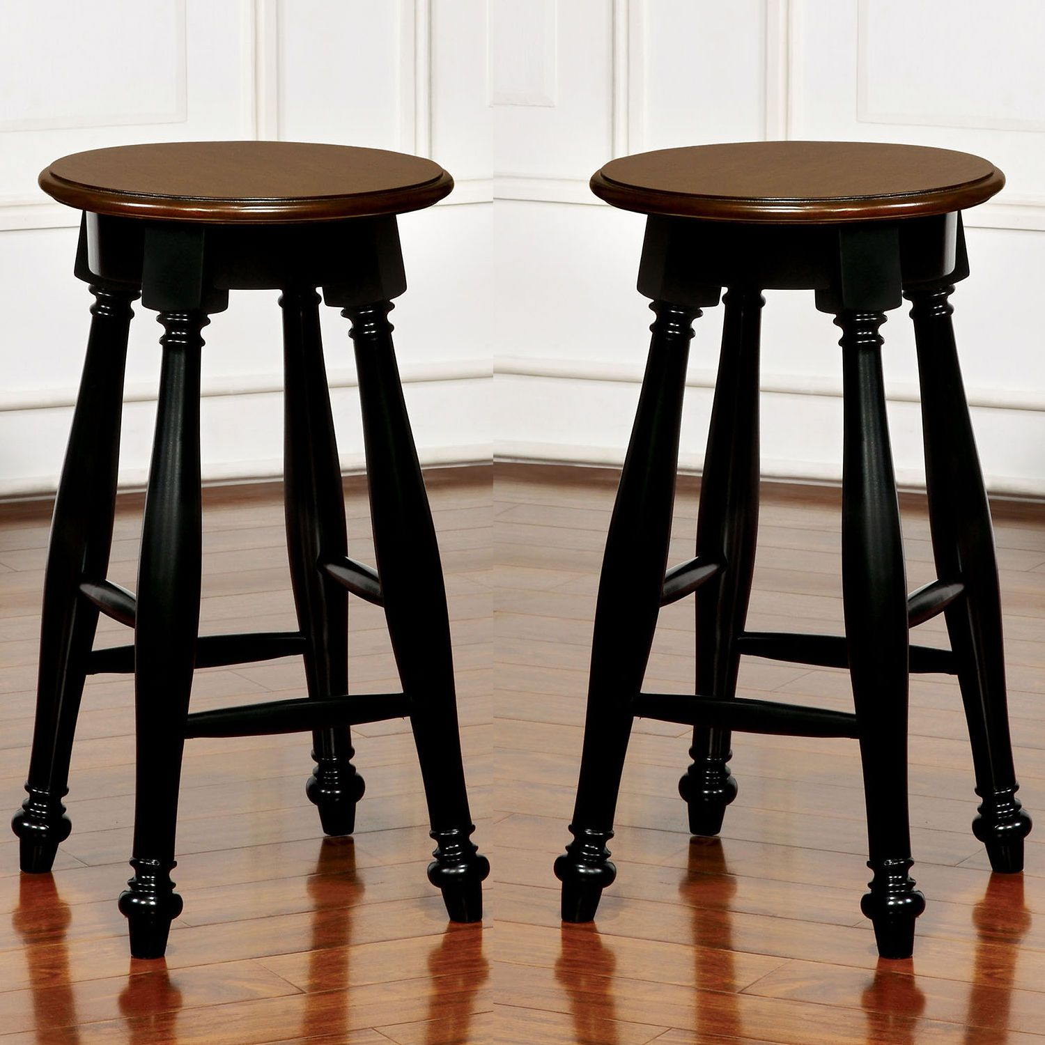 Pleasing Details About Kenley Counter Height Stools With Wood Seat Dailytribune Chair Design For Home Dailytribuneorg