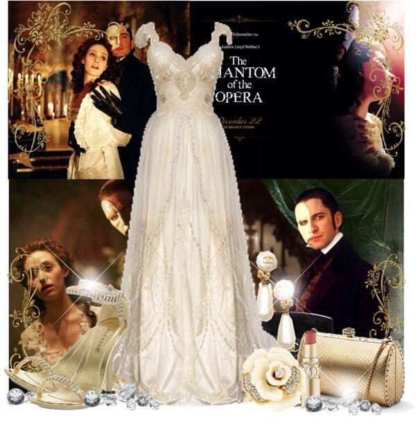 Christine Daae Dressing Gown: Phantom Of The Opera Clothing