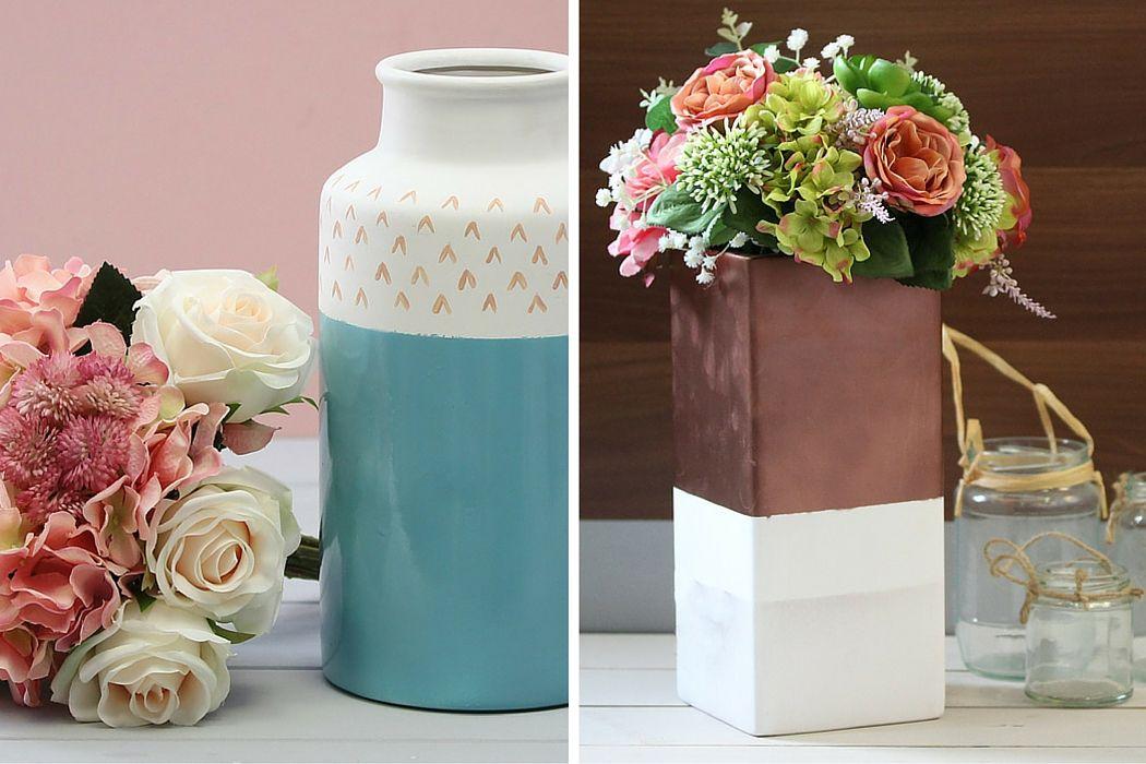 Ideas Hobbycraft Blog Hobbies And Crafts Ceramic Vases Decor