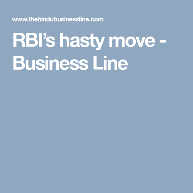 Rbi S Hasty Move Business Line Moving Business Lettering