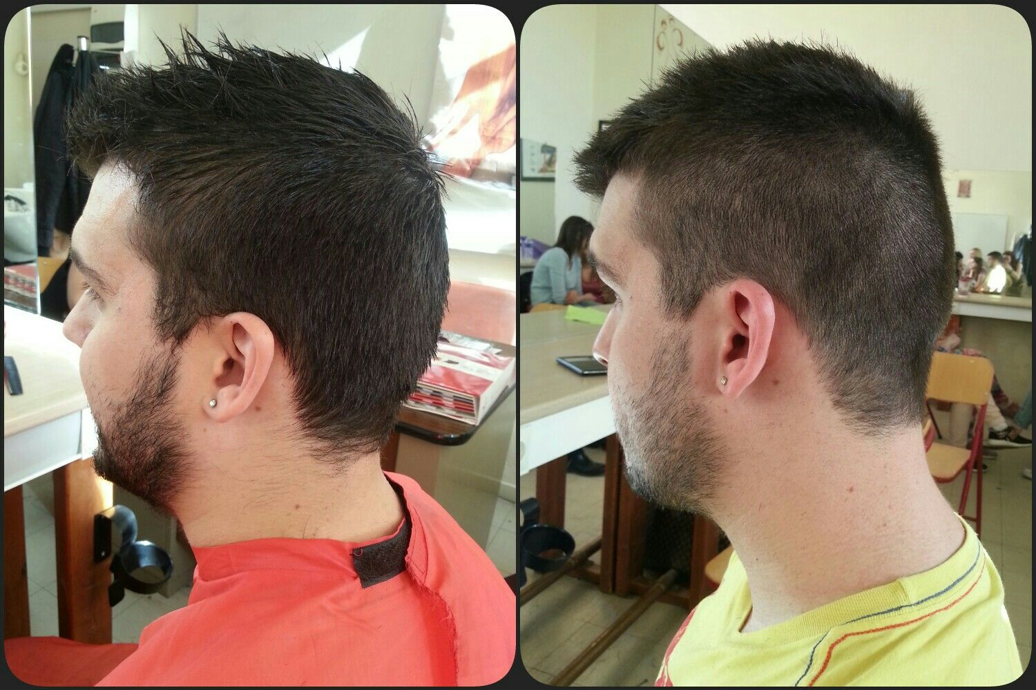 Men's blowout haircut pin by ΜΑΡΙΑ hair style beauty on Κουρέματα  pinterest