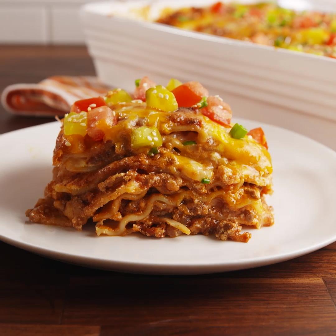 Photo of Cheeseburger Lasagna
