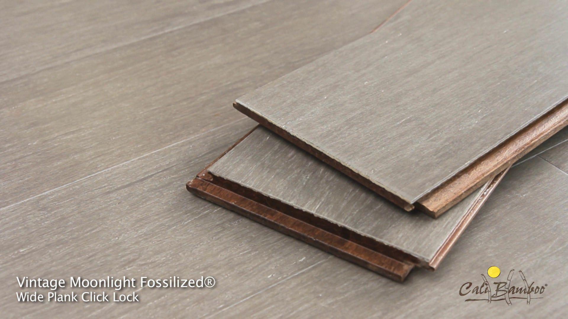 Vintage Moonlight Cali Bamboo Flooring Flooring Grey