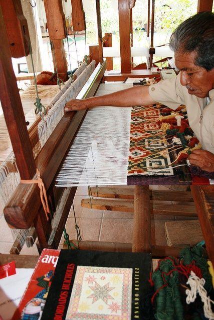 Isaac Vasquez Weaving Mexican Rug Mexican Textiles Mexican Art