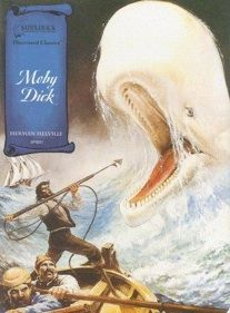 Capa de A baleia branca Moby Dick - Herman Melville