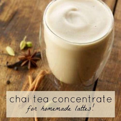 Yummy Chai Tea Concentrate Recipe