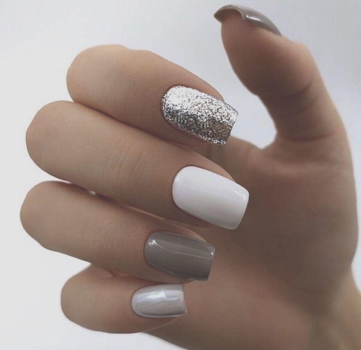 Pin by Nina Aliya on Poem 2019 set Stylish nails