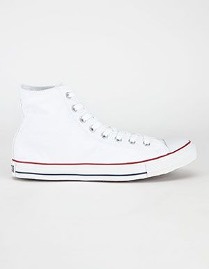 CONVERSE Chuck Taylor All Star Hi Shoes White