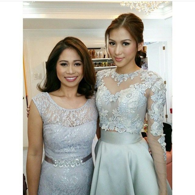 Wedding Principal Sponsors Gown: The Maid Of Honor. #paultin #PerfectTogether RG