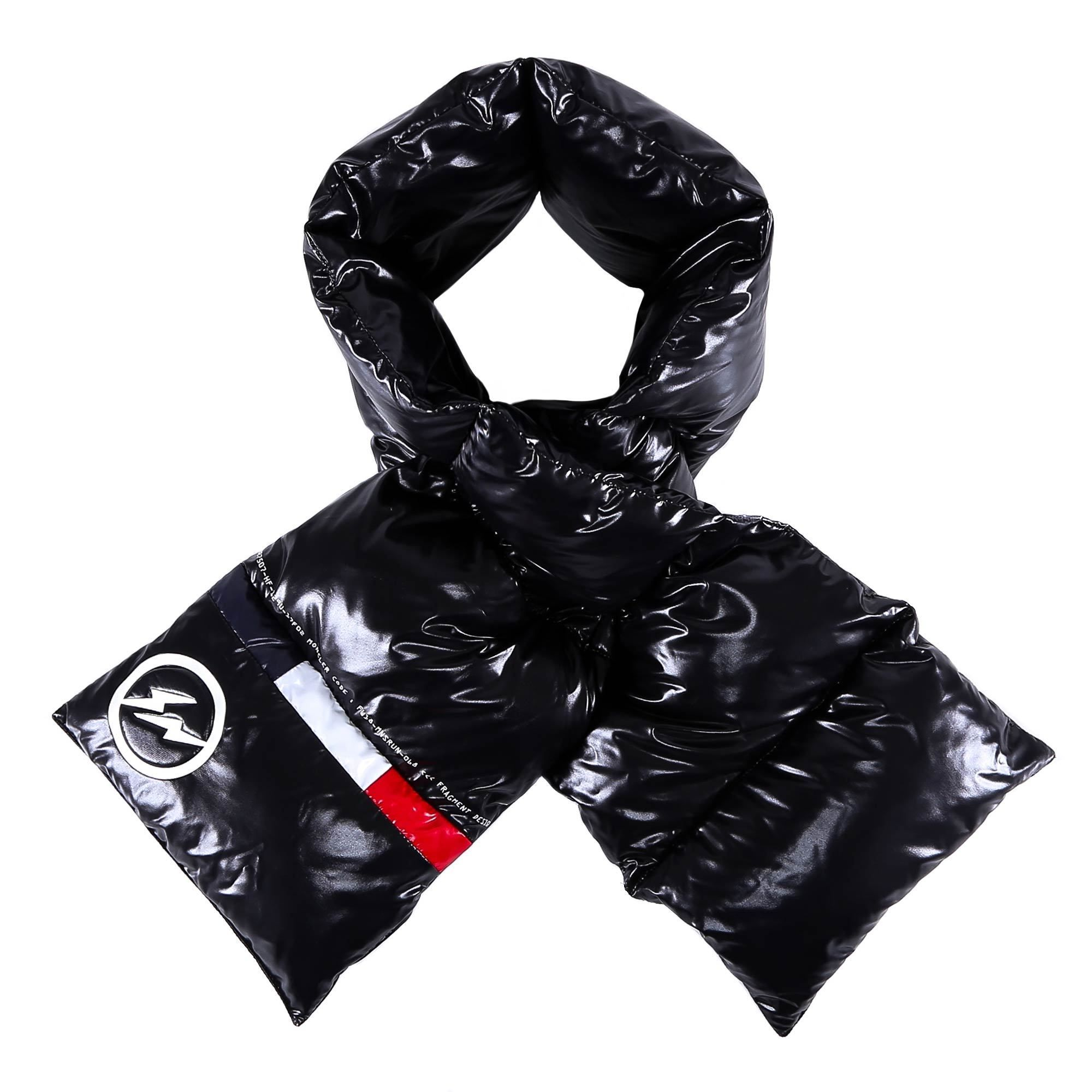 c04a59e30 MONCLER MONCLER FRAGMENT PADDED SCARF. #moncler | Moncler in 2019 ...