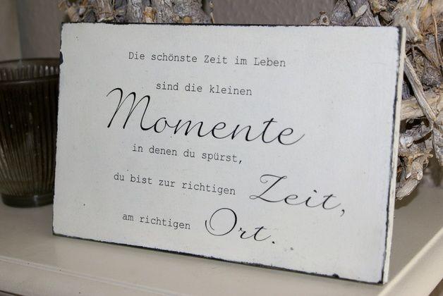 das schönste im leben sind die kleinen momente