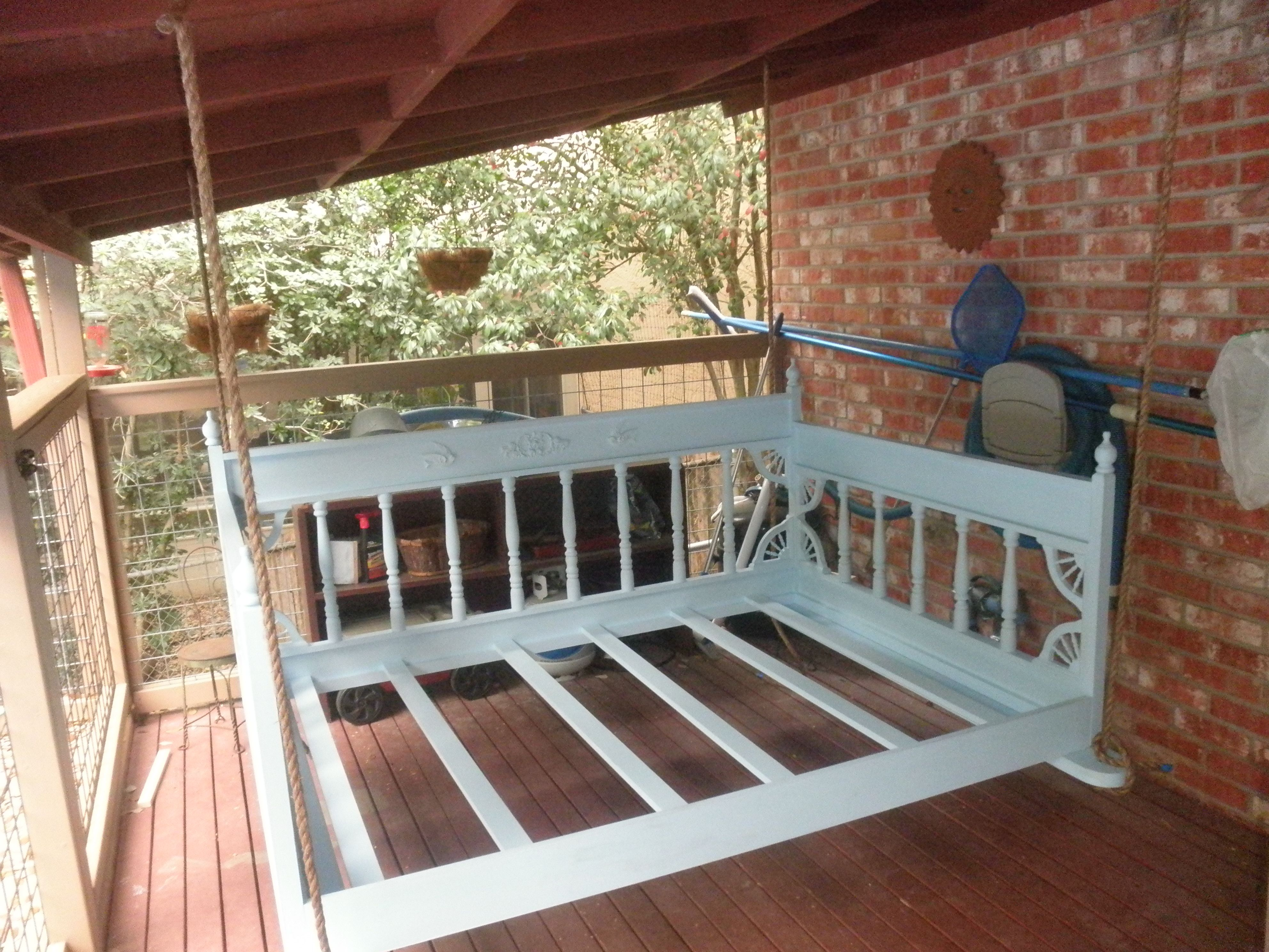 swing bed plans | swing bed | woodworking plans porch swing, porch