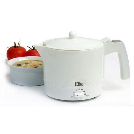 Maxi-Matic 32 oz Electric Hot Pot, White