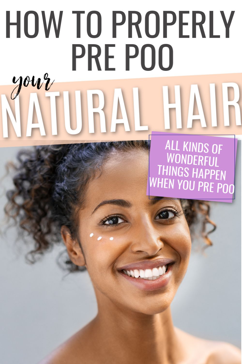 How to prepoo your hair make the most of it curls and