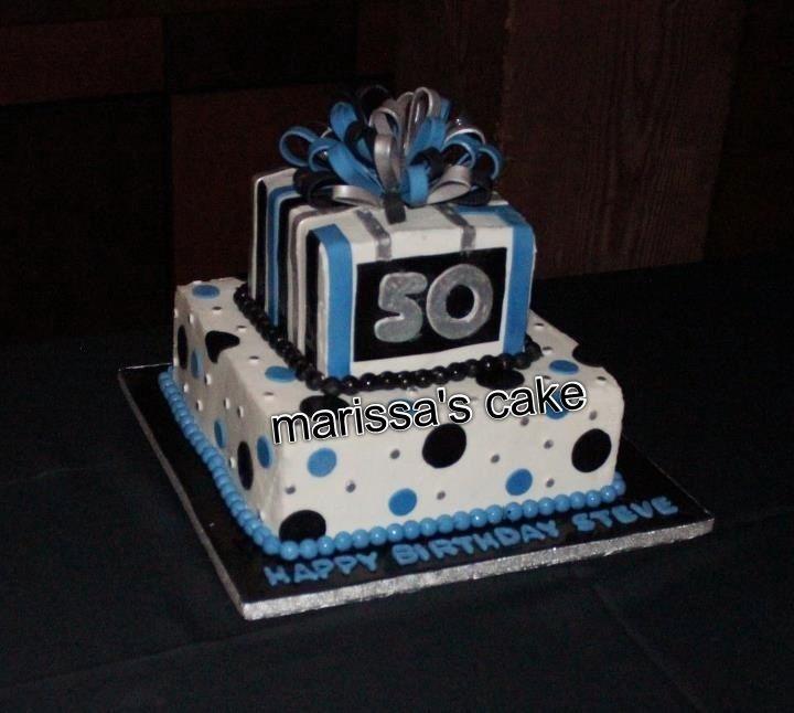 50th Birthday Cake For Men Cake Pinterest Cake