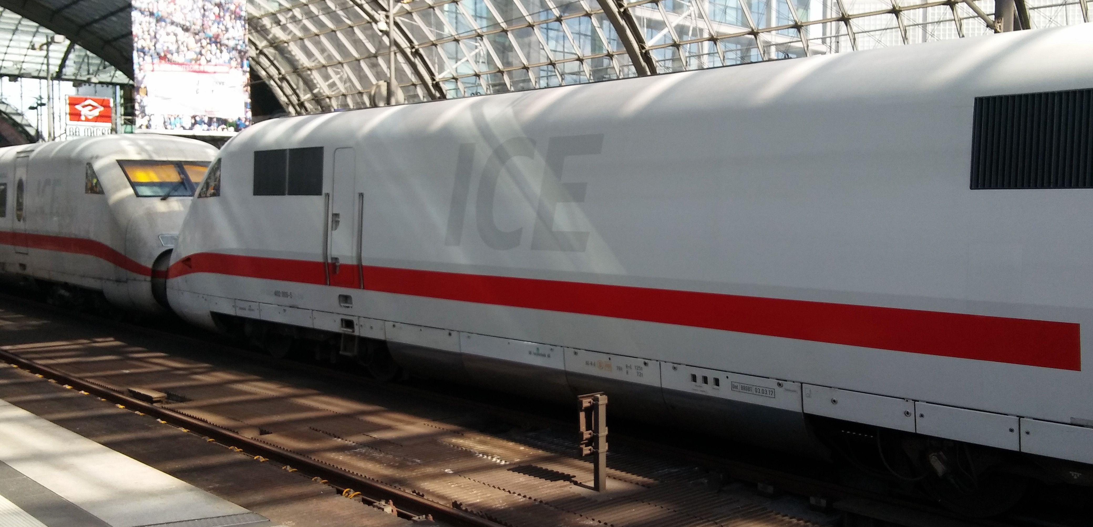 ICE Berlin Hauptbahnhof Deutsche bahn, Hauptbahnhof