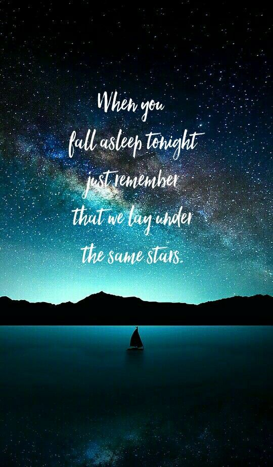 Lay Under Stars Quote