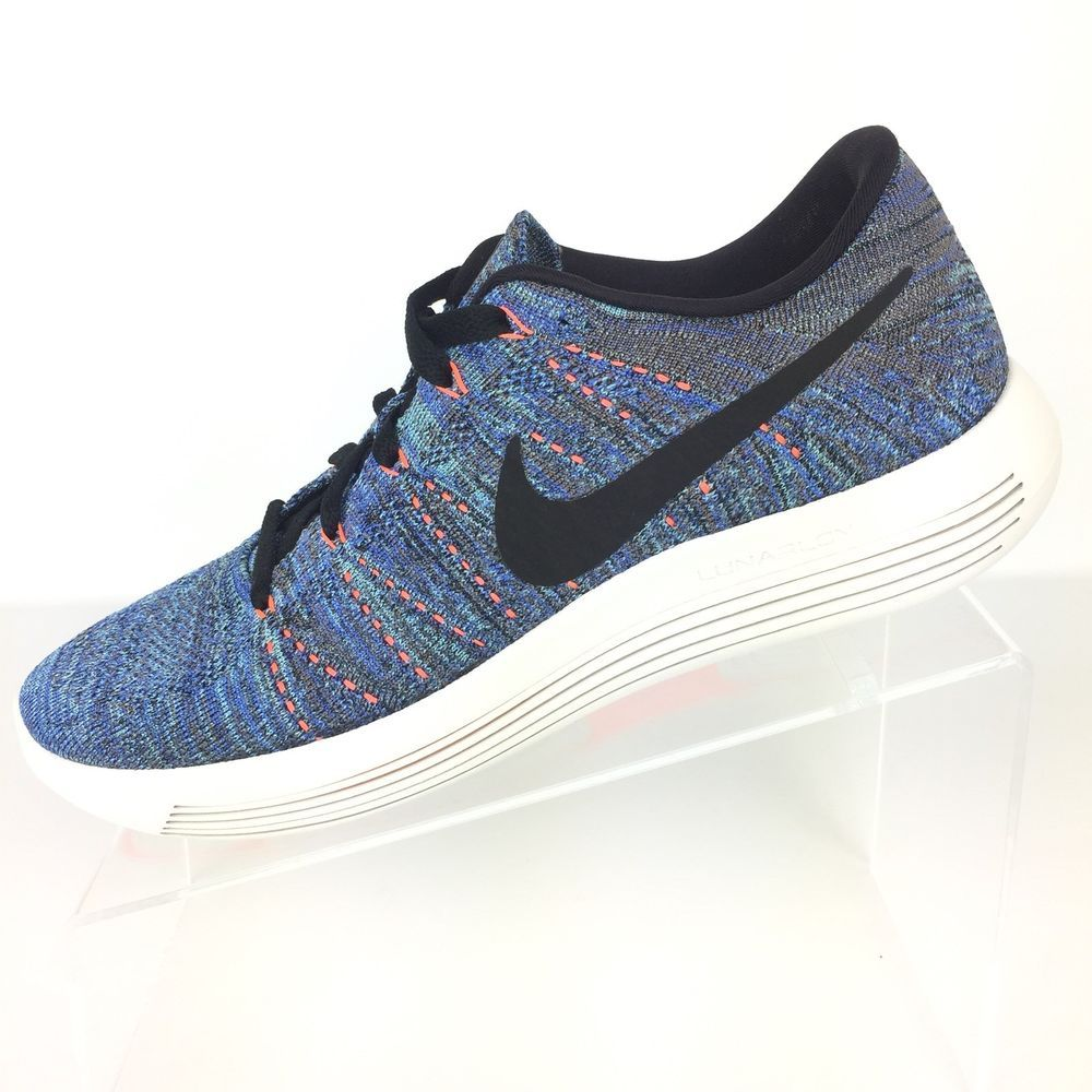online store b9afd cdcad Nike Lunarepic Flyknit Men's Running Shoes Size 8 Blue Green ...