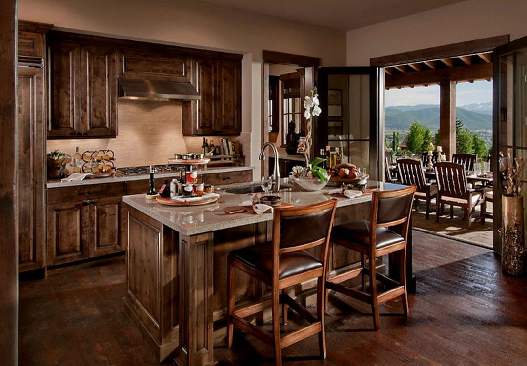 35 gorgeous rustic kitchen designs and decorations for cozy kitchen with images small rustic on kitchen decor themes rustic id=92735