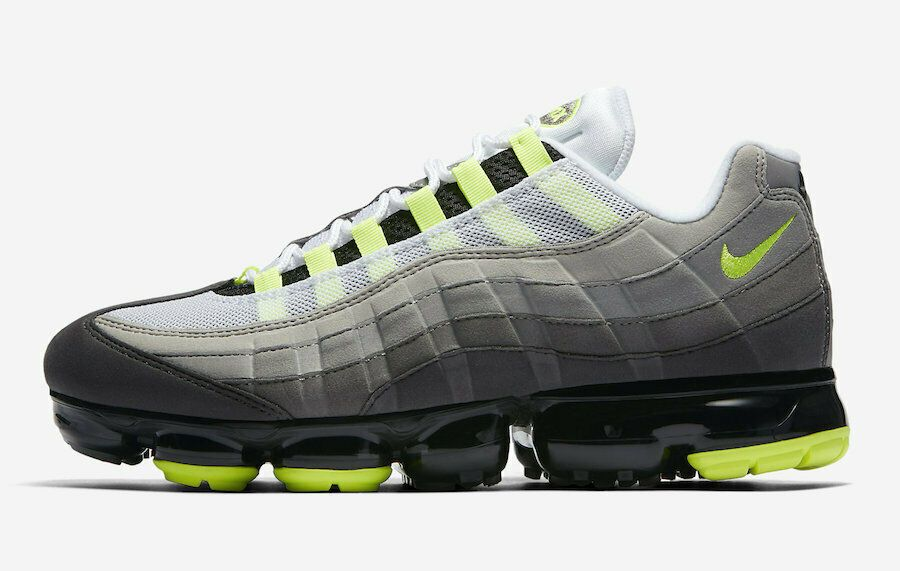 Details about Nike Air Vapormax 95 Grey