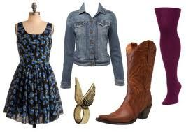 how to wear my new cowgirl boots!