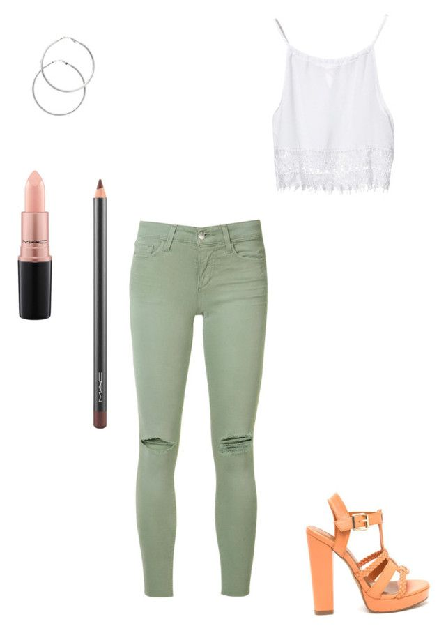 """Untitled #925"" by eshkapeesh on Polyvore featuring Joe's Jeans, Melissa Odabash and MAC Cosmetics"