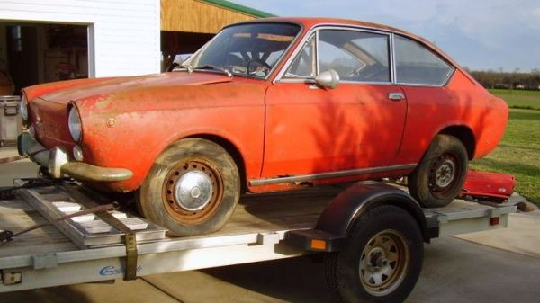 1967 Fiat 850 Coupe Barn Find Fiat 850 Barn Finds Fiat