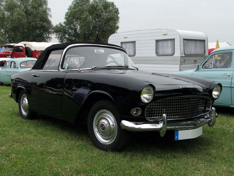 Moderne SIMCA Aronde Océane Cabriolet 1957   Simca, Simca aronde, Cabriolet II-94