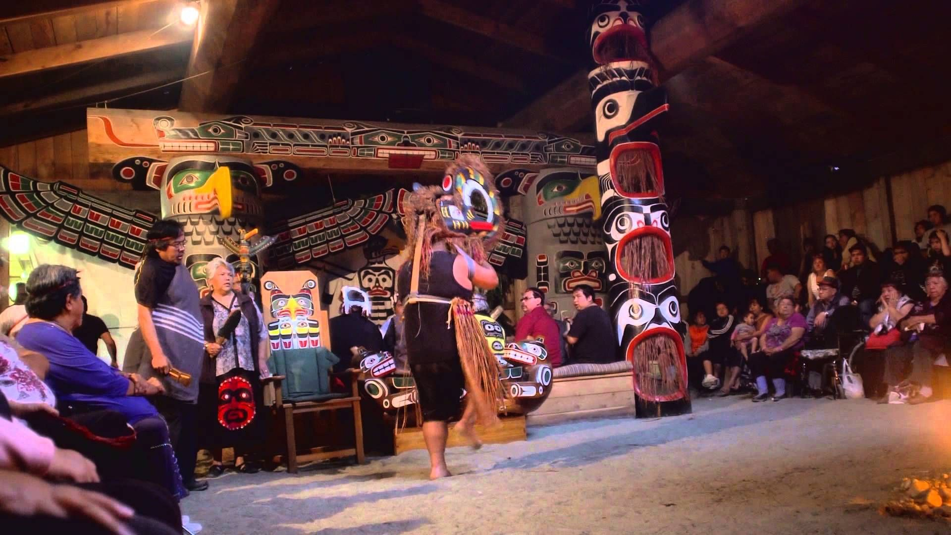 Potlatch In New Vancouver
