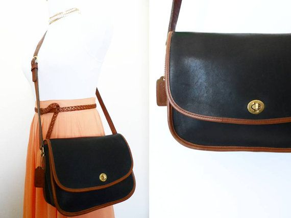 556e340bd5 Vintage Coach City Bag 9790 Large Leather Handbag by hanniandmax ...