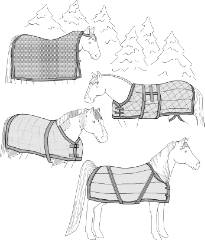 Make Your Own Horse Blanket Or Cooler Pattern