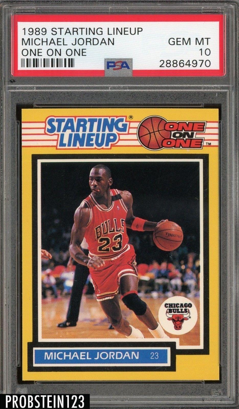 1989 starting lineup one on one michael jordan bulls hof