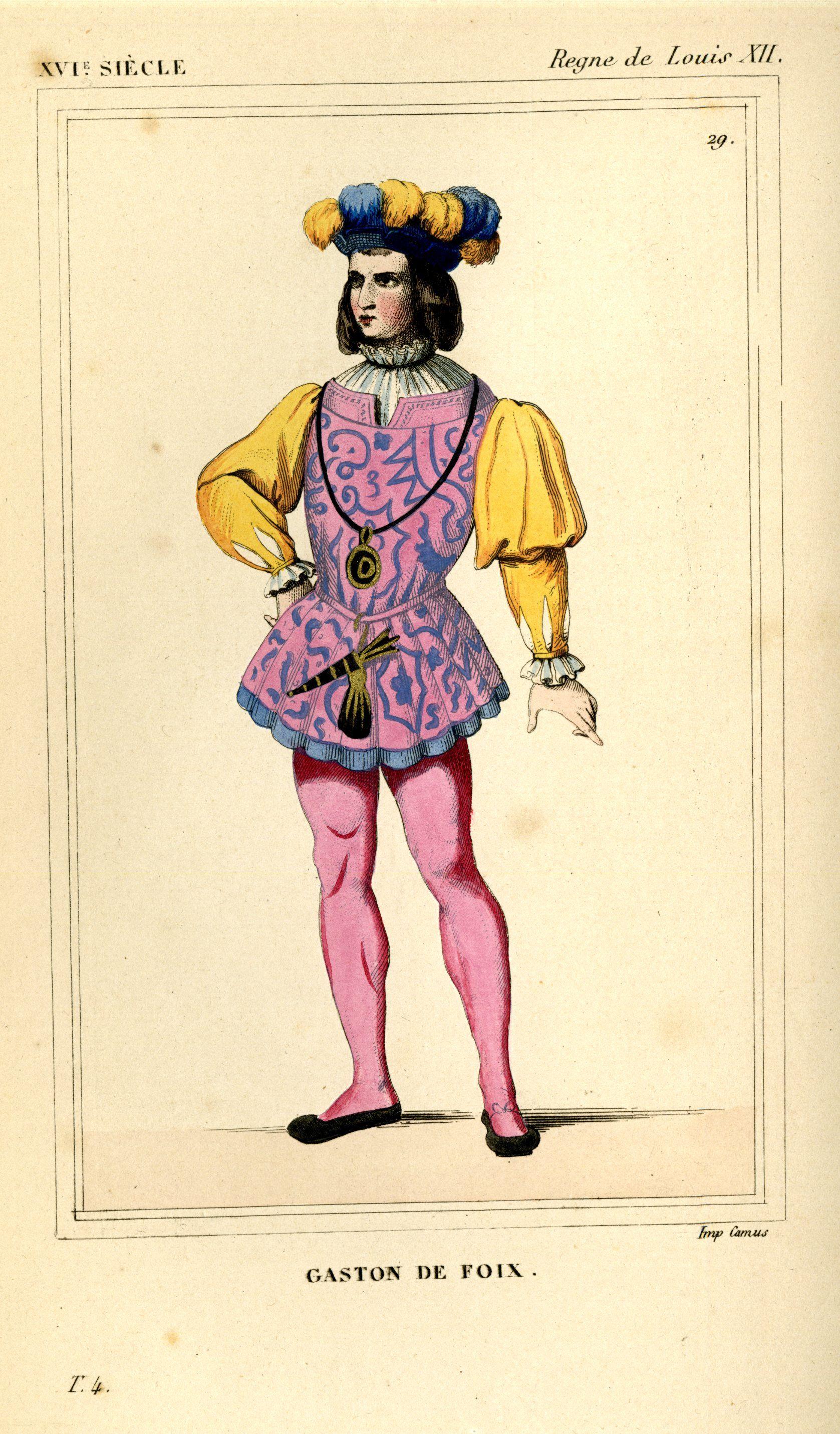 Costumes Historiques de la France, par le Bibliophile Jacob. 1852, vol. 4,  plate 29