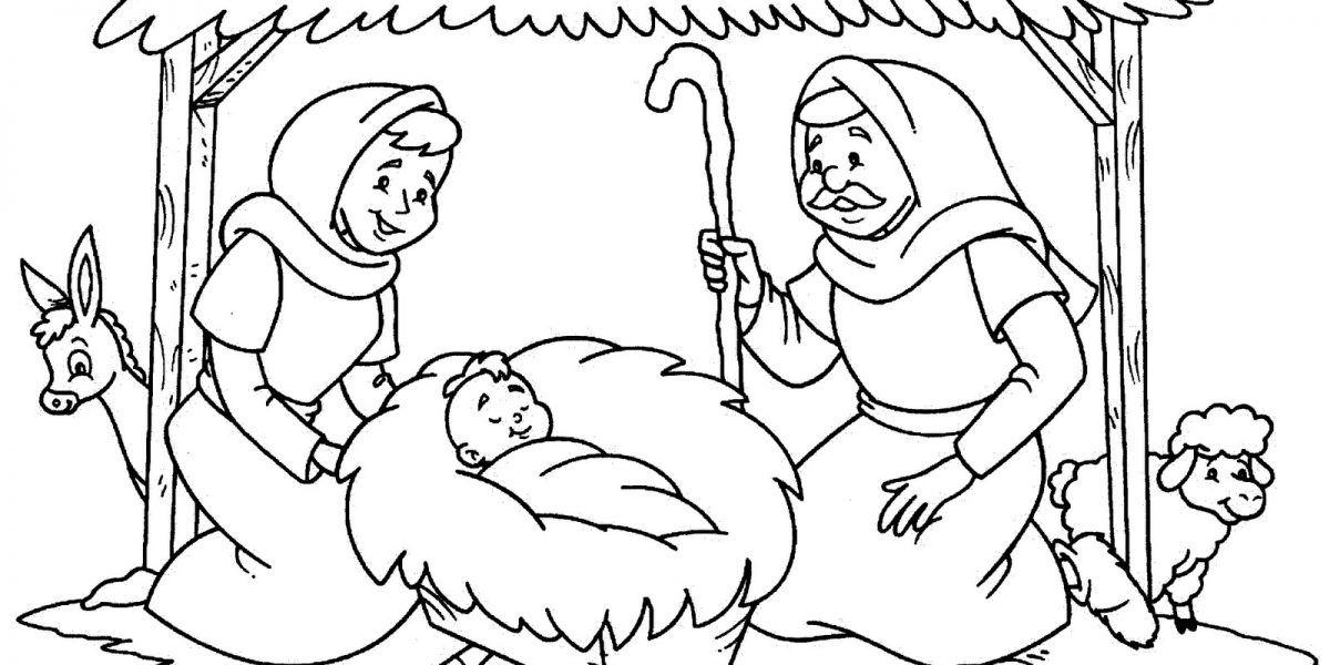 Desenhos Natalinos Para Colorir Presepios Vzdelavanie Mikulas