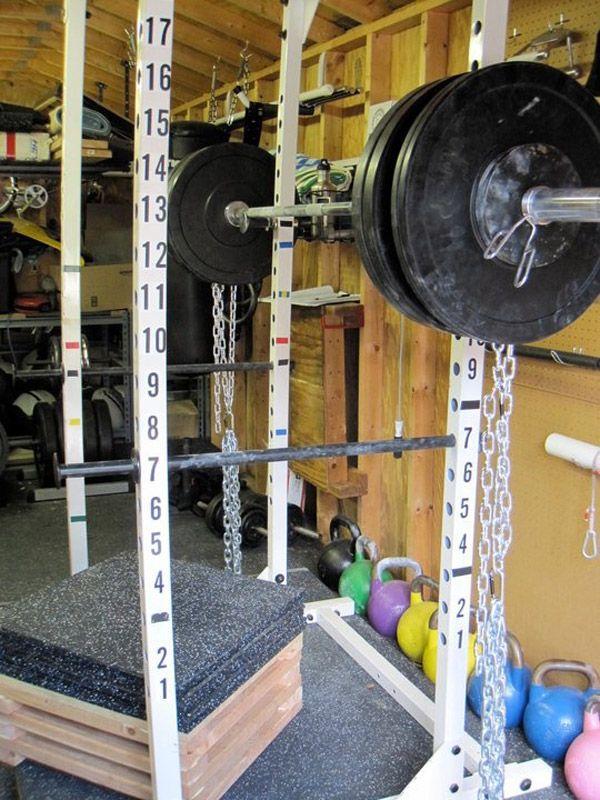 Inspirational Garage Gyms u0026 Ideas Gallery Pg