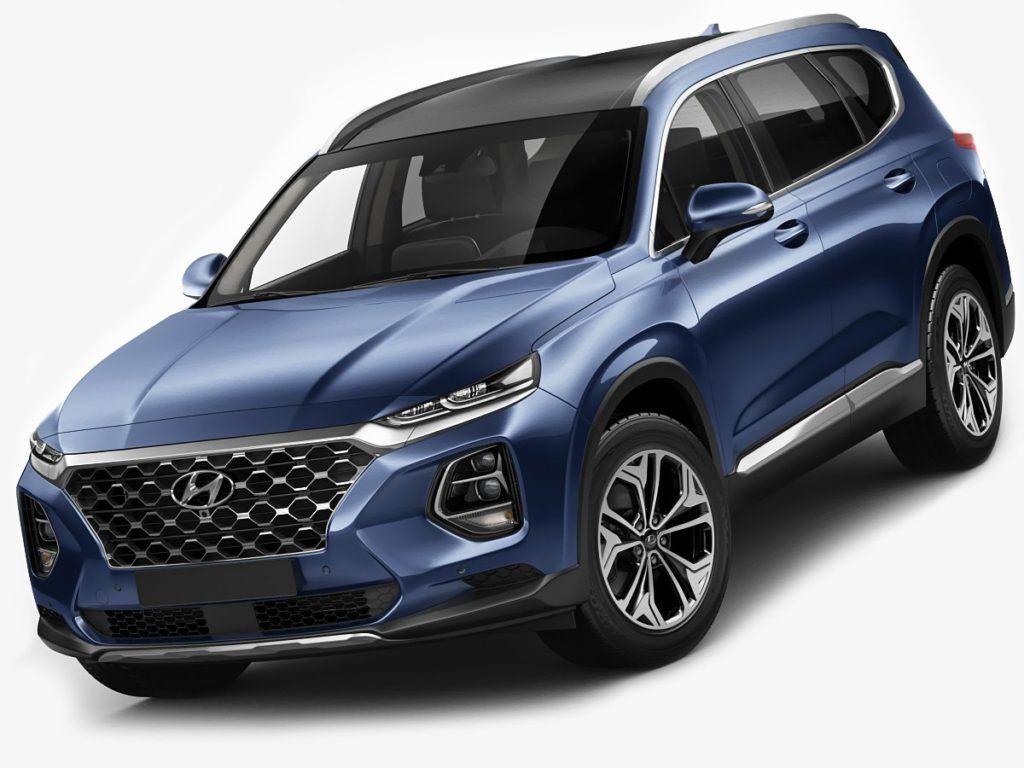 2020 Hyundai Santa Fe features Hyundai santa fe, Hyundai