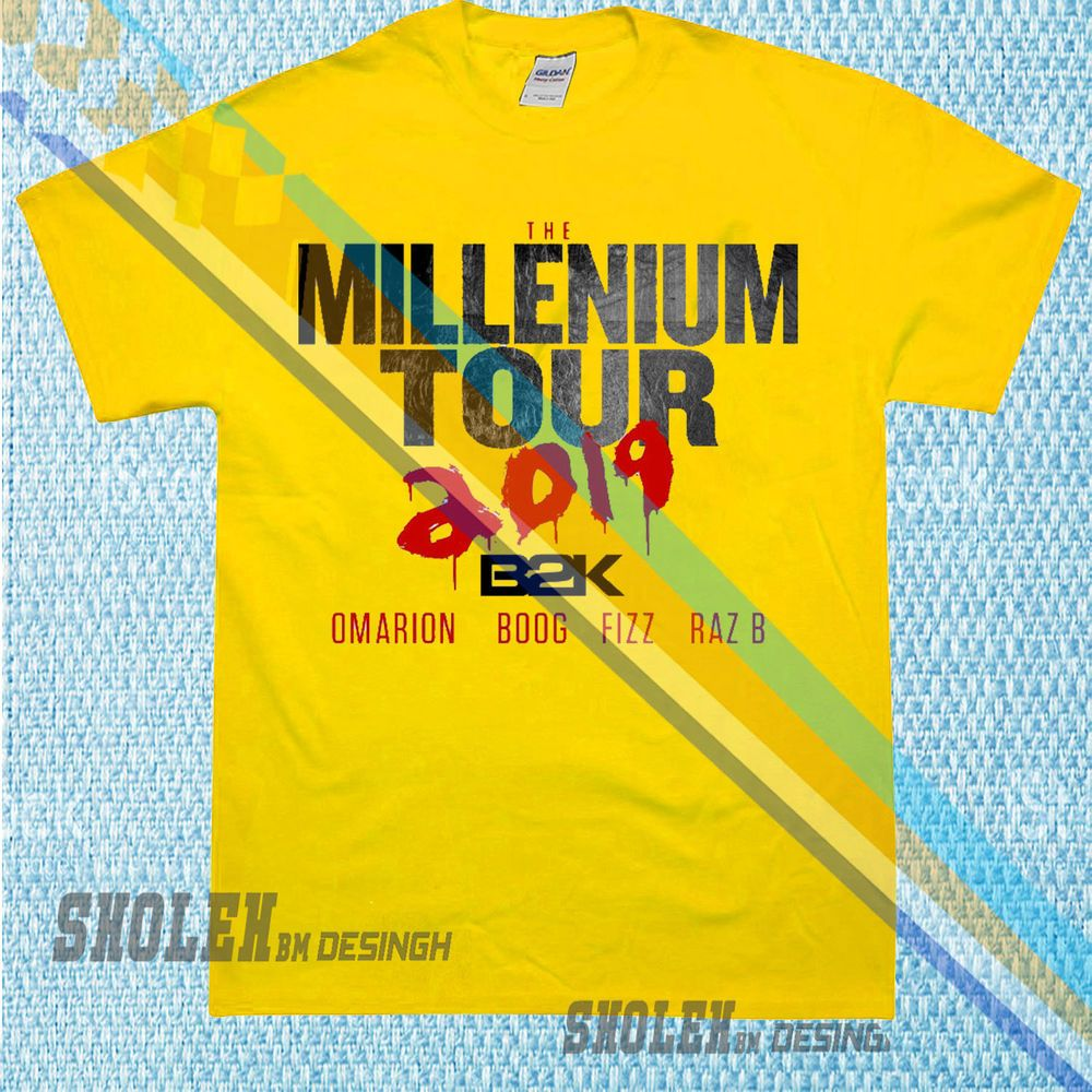 cefb76ad79a NEW LIMITED INSPIRED BY B2K MILLENNIUM T-SHIRT | NEW | TOUR RARE GILDAN  #fashion #clothing #shoes #accessories #mensclothing #shirts (ebay link)