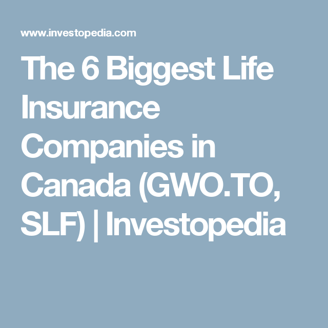 Top 6 Life Insurance Companies In Canada Life Insurance