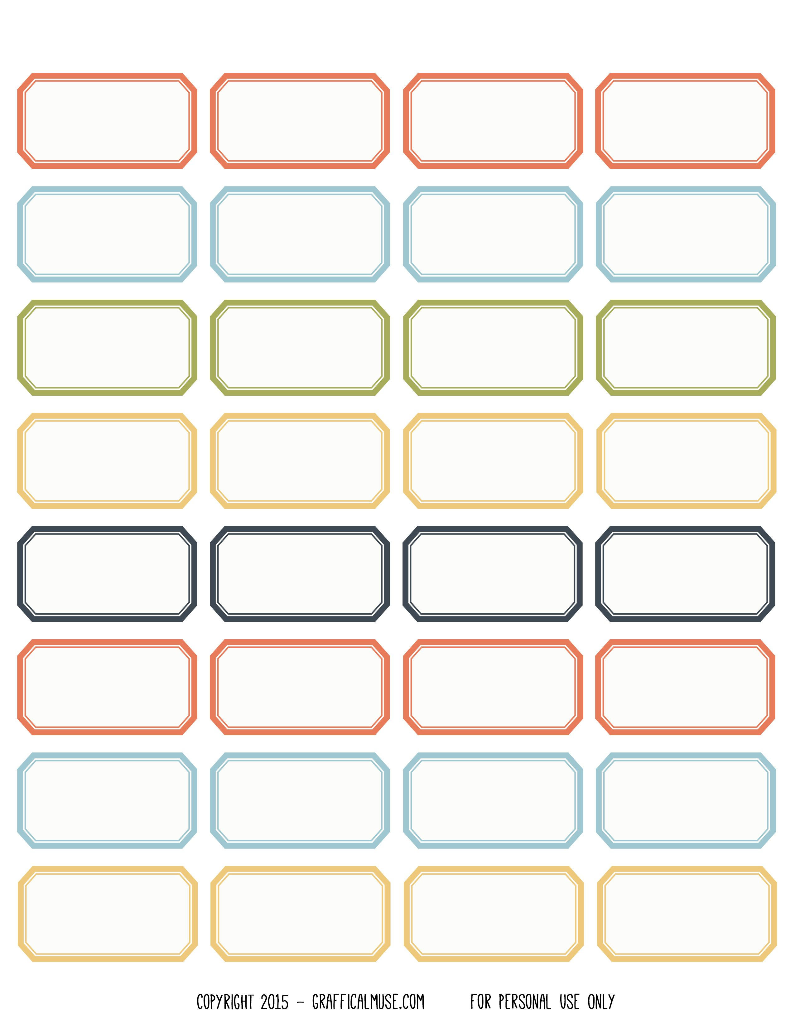 Free Printable Vintage Style Label Stickers Downloads Printables