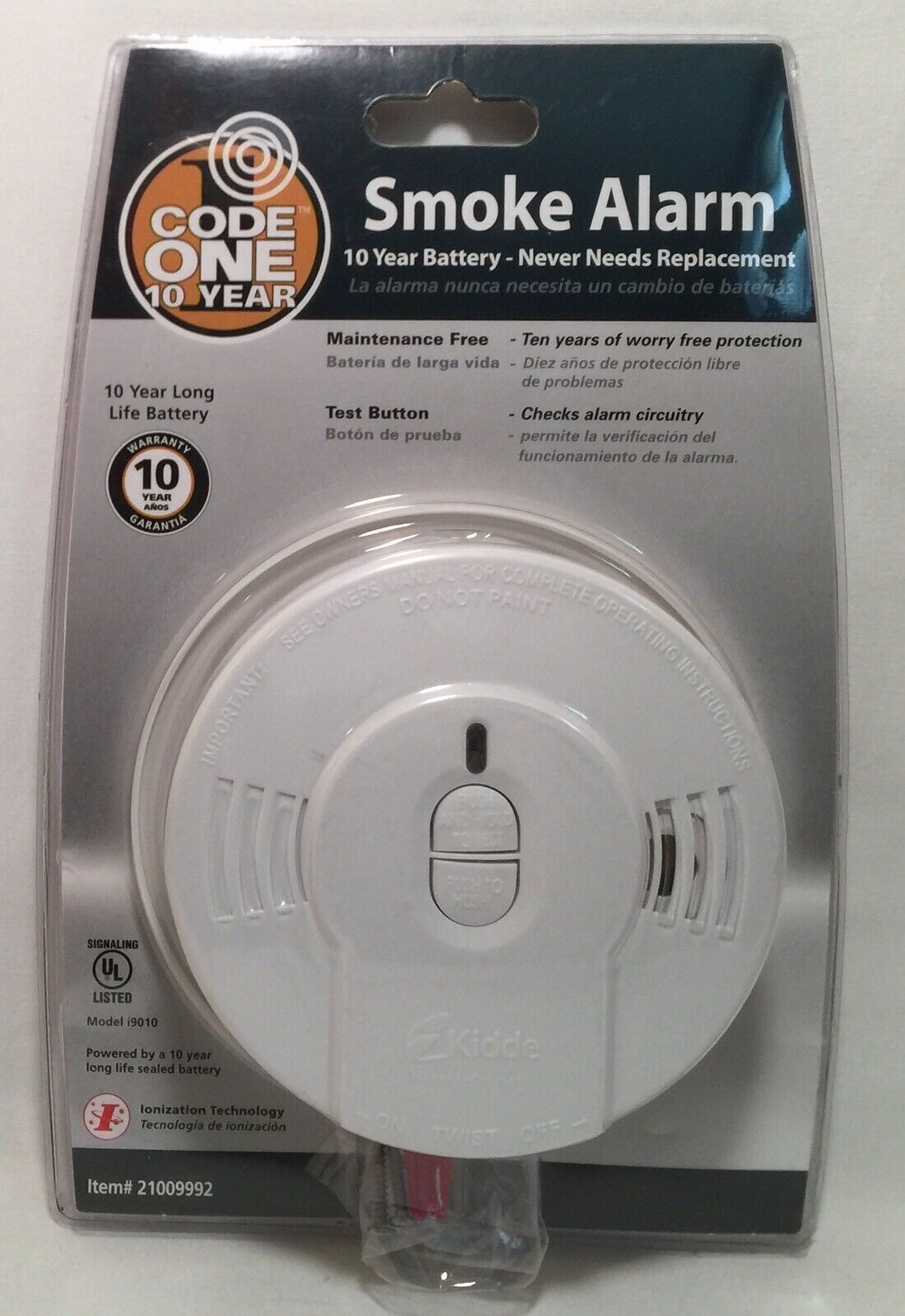 Smoke Alarm Smoke Alarm Ideas Smokealarm Firealarm Code One Smoke Alarm Detector Model I9010 10 Year Battery Code One Smo Smoke Alarms Fire Alarm Alarm