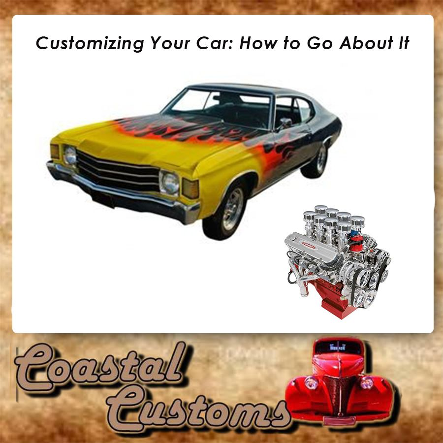 do you want to customize your car and give it a complete make over
