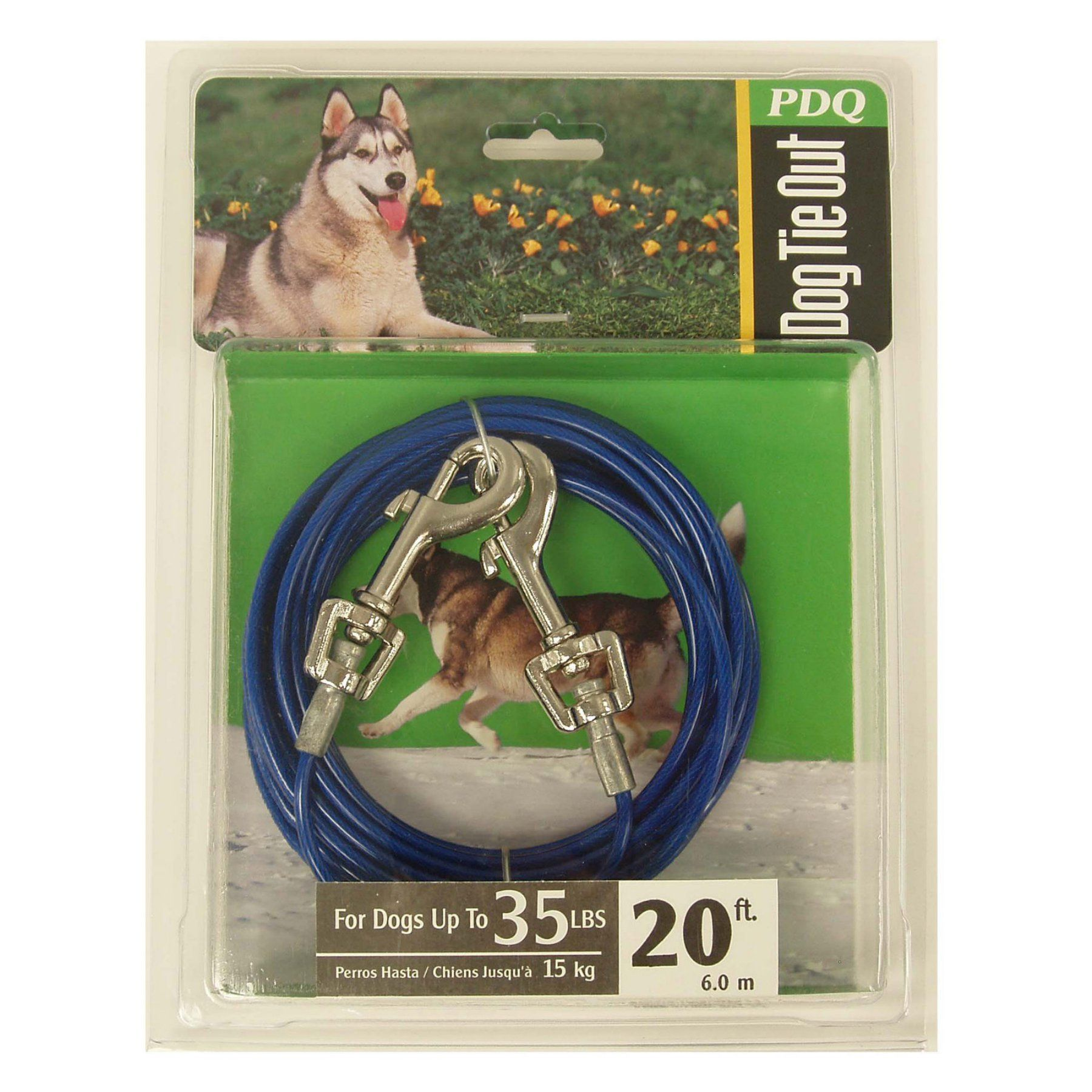 Boss pet dog tieout chain medium 08650178 dog tie